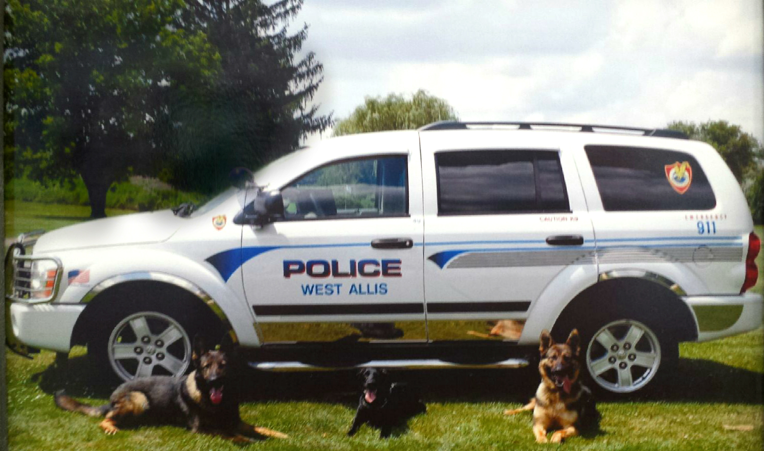 West Allis PD K9s