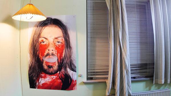 My Stigmata Bedroom (Selfportrait with s