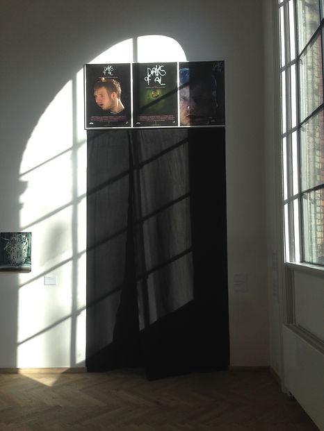 DAYS OF AL exhibition entrance at Kunsthal Charlotteborg