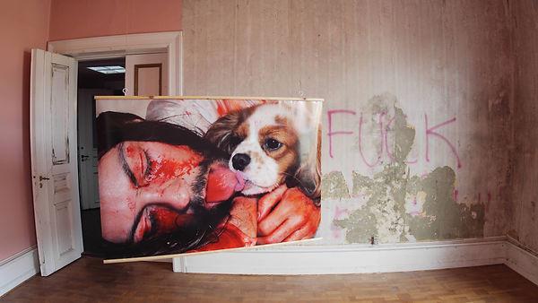 My Stigmata Bedroom (The Kiss).JPG