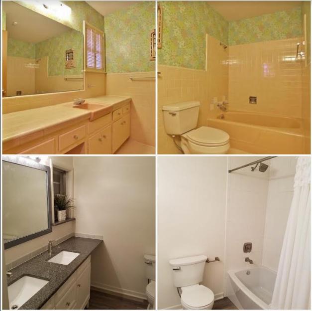 From Drab to Fab!  Sylvan Hall Bathroom Remodel