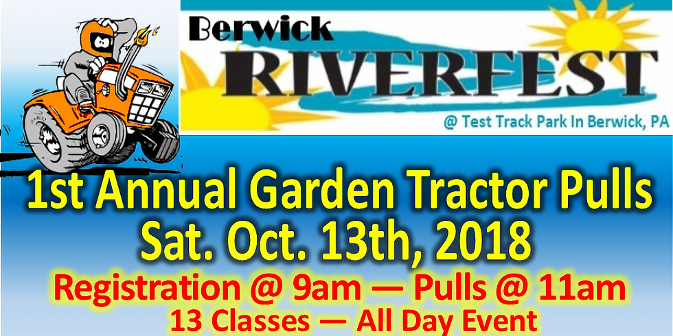 1st Annual Riverfest Tractor Pulls