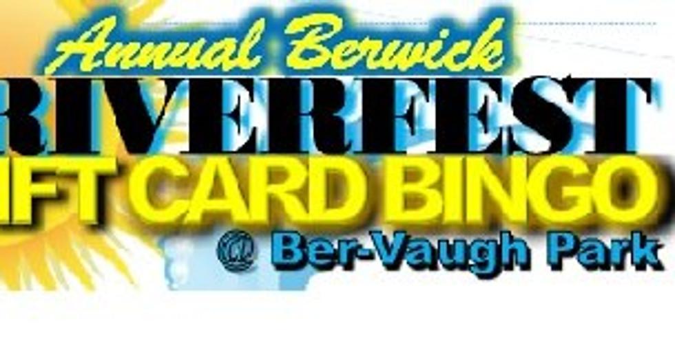 Berwick Riverfest Gift Card Bingo