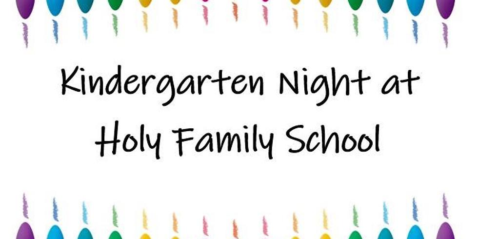 Kindergarten Open House Night