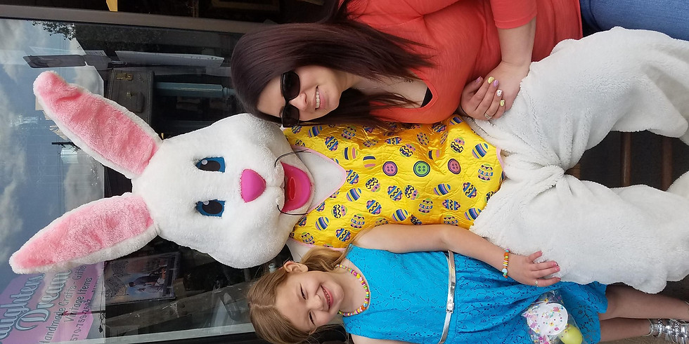 Easter Bunny coming to Daughters Dream