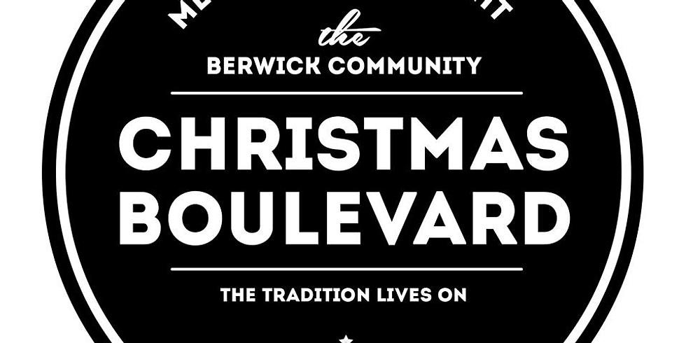 The Famous Berwick Christmas Bouelvard