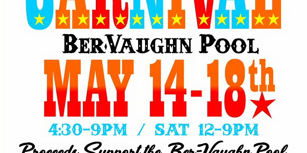 7th Annual Carnival Ber Vaughn Pool
