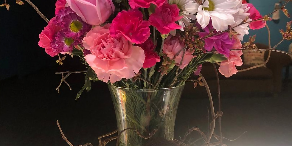 Mother's Day FLORAL CRAFT CLASS