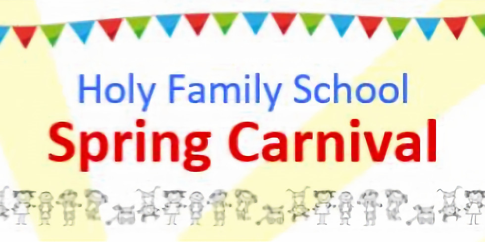 1st Annual Holy Family School Spring Carnival