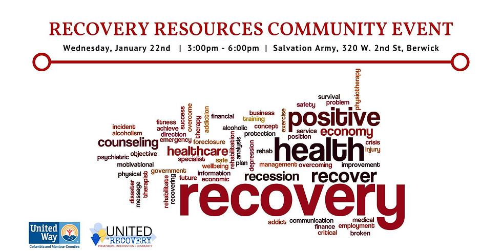 Recovery Resources Community Event
