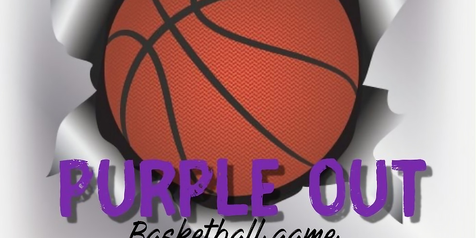 Purple OUT Basketball GAME