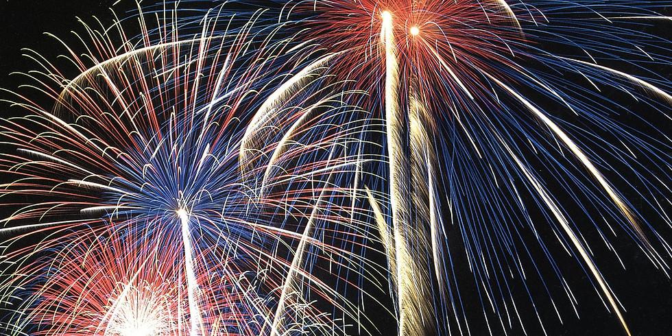Berwick PA HUGE Fireworks Display!!!!!
