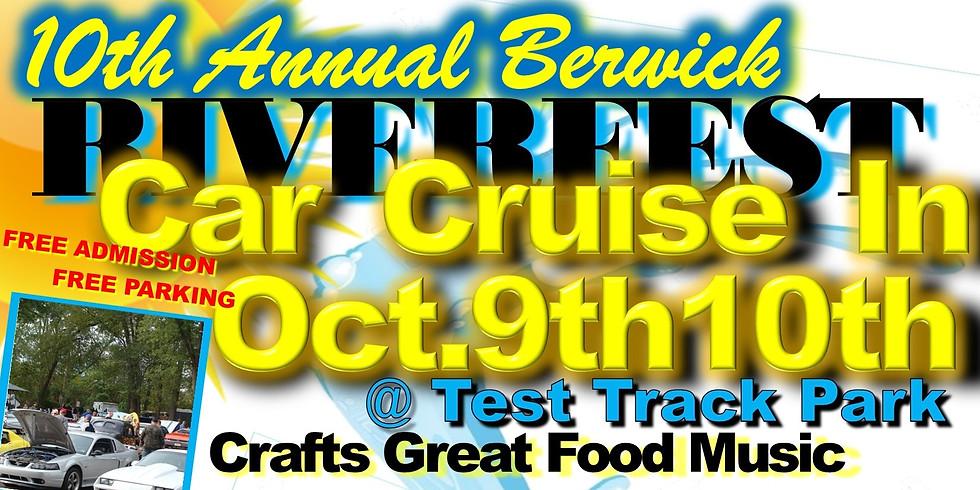Car Cruise In Berwick Riverfest