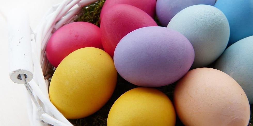 Easter Egg Hunt at McBride