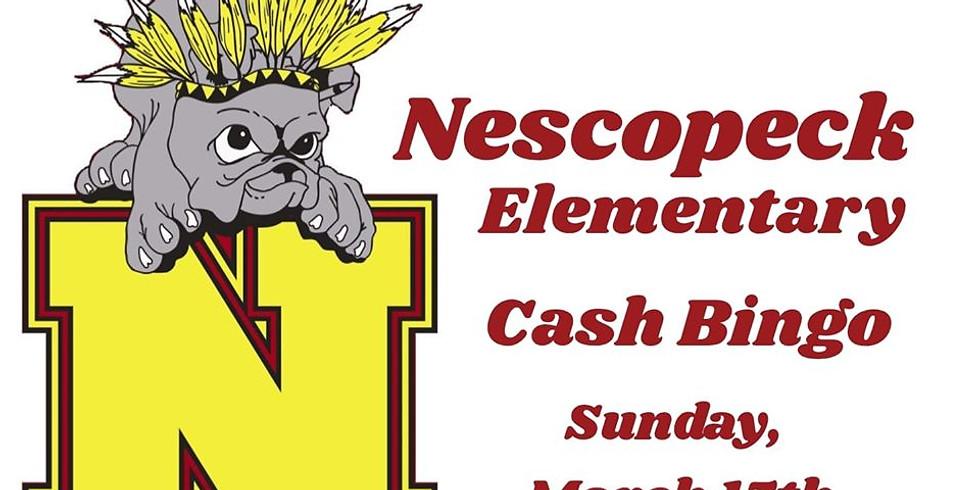 Nescopeck Elementary Cash Bingo