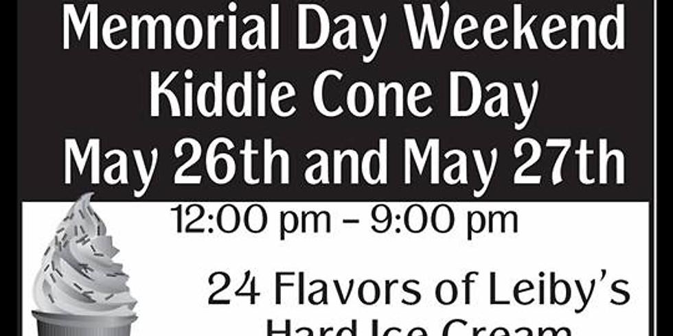 Bondarosa Kiddie Cone Weekend 26th/27th May