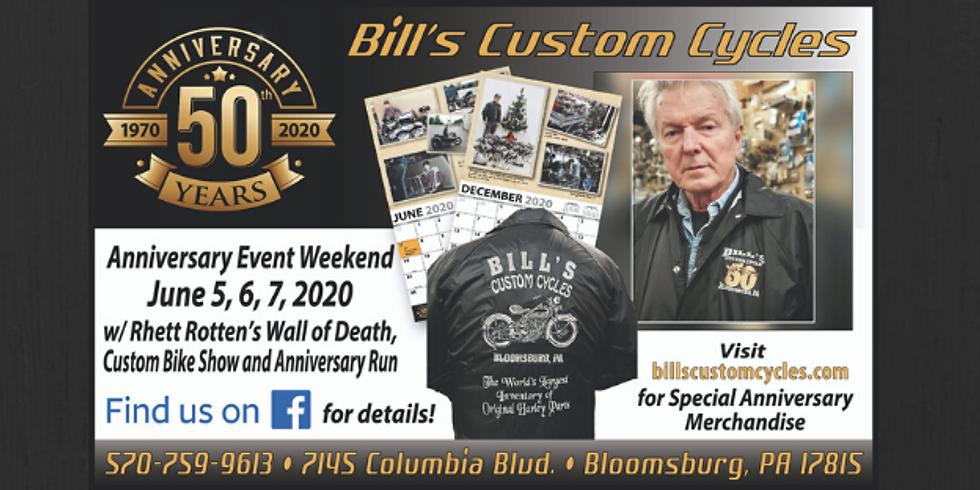 Bill's Custom Cycles 50th Anniversary Weekend