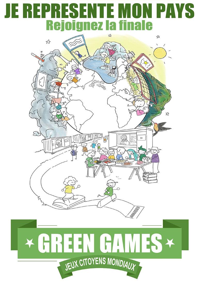 Green Games Paris 2024, les 1ers Jeux citoyens mondiax de l'histoire