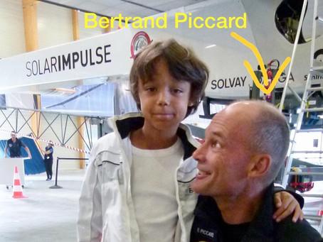 Bertrand Piccard, le pionnier du développement durable.