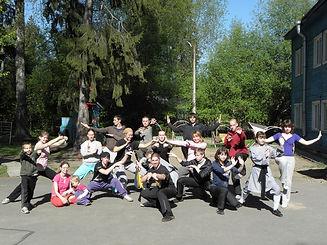 все вместе в Вырице - семинар май 2011 г
