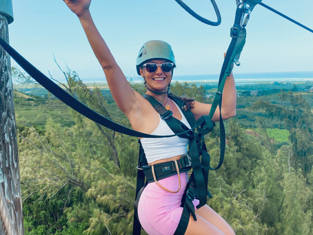 Zip Lining on North Shore
