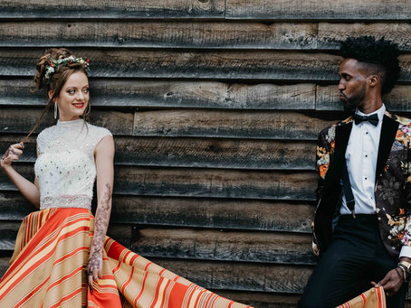 JORDANS MILL, BEDFORDSHIRE WEDDING // TAMSIN + ABDI
