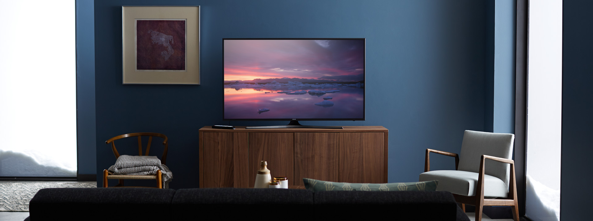 Samsung Curved Smart TV