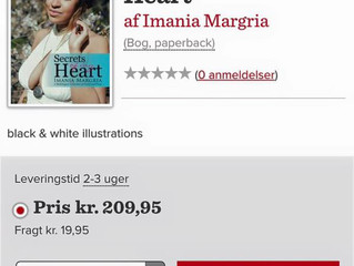 SOMH (Secrets of My Heart) is now available in Denmark!!