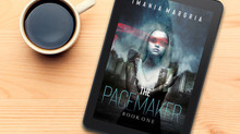 If you liked the cover of my book, The Pacemaker, please vote for it on Allauthor's now!