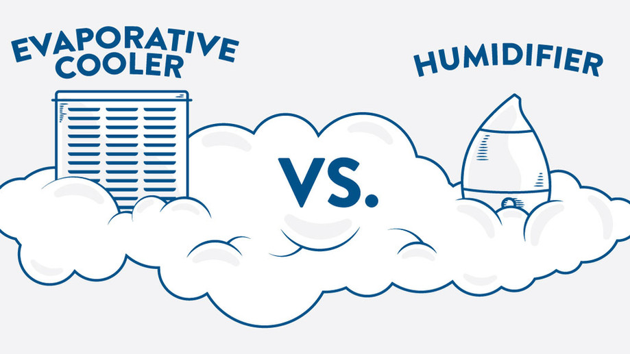 The Relationship between Evaporative Coolers and Humidifiers
