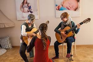 Gitarre und Resonanzlehre München