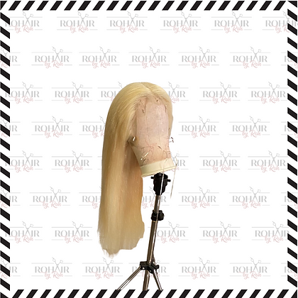 Blonde Straight Frontal Wig