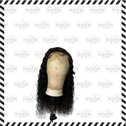 Deep Curly Frontal Wig
