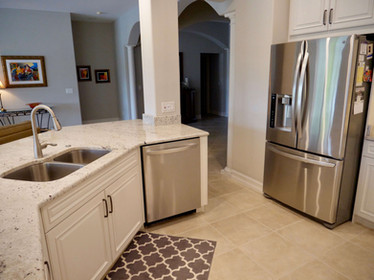 8. Kitchen on Masters Circle in Pelican Sound, Estero (AFTER)