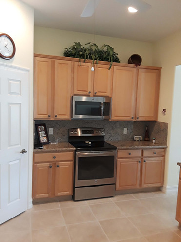 9. Kitchen on Masters Circle in Pelican Sound, Estero (BEFORE)