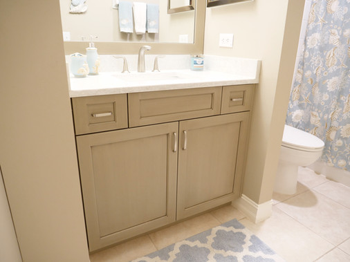 31. Guest bathroom remodel - Island Sound Cir.