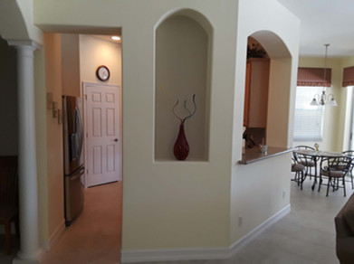 5. Kitchen on Masters Circle in Pelican Sound, Estero (BEFORE)