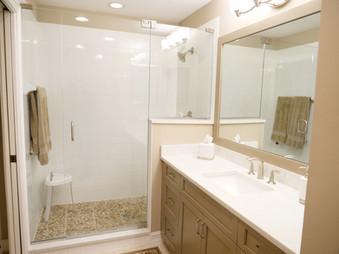 22. AFTER Master Bathroom Remodel - Island Sound Cir.