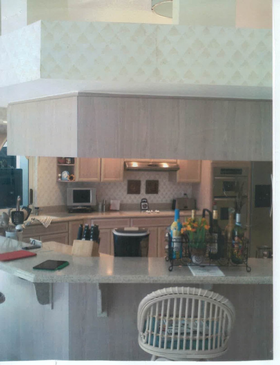 15. Kitchen on Panther Paw Ct before renovations