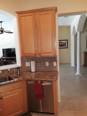 7. Kitchen on Masters Circle in Pelican Sound, Estero (BEFORE)