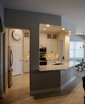 6. Kitchen on Masters Circle in Pelican Sound, Estero (AFTER)