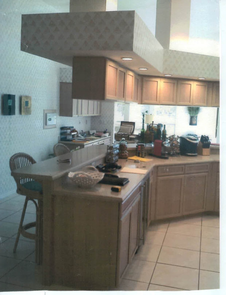 13. Kitchen on Panther Paw Ct before renovations