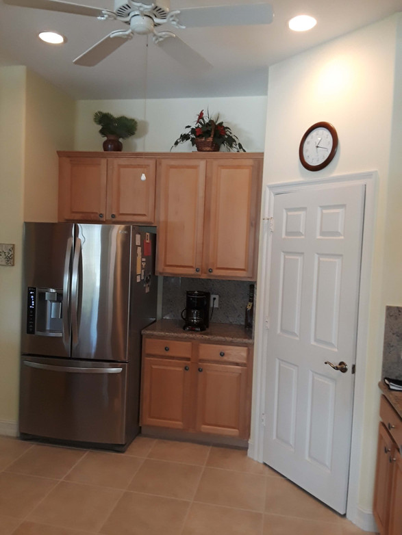 11. Kitchen on Masters Circle in Pelican Sound, Estero (BEFORE)