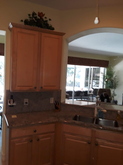 3. Kitchen on Masters Circle in Pelican Sound, Estero (BEFORE)