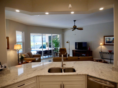 4. Kitchen on Masters Circle in Pelican Sound, Estero (AFTER)