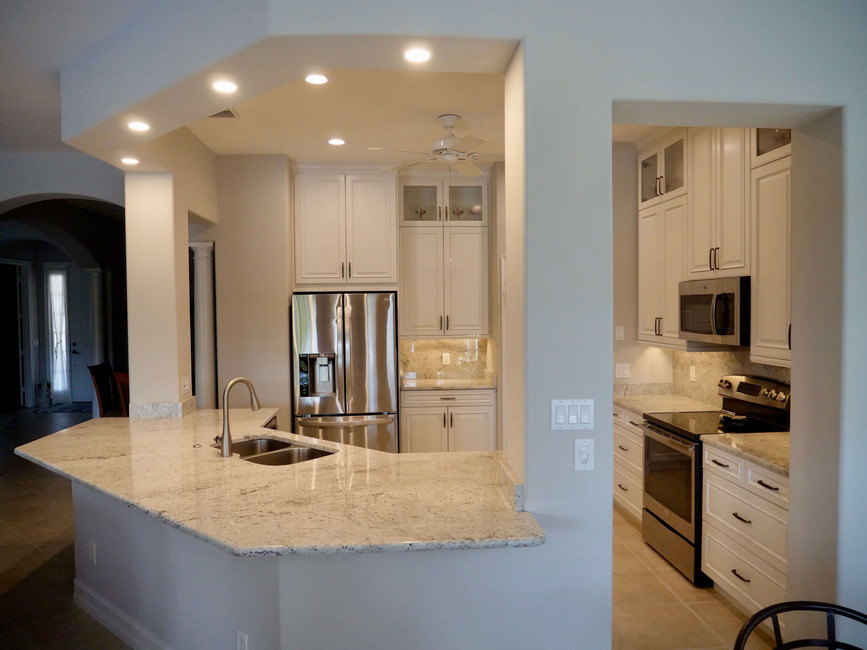 14. Kitchen on Masters Circle in Pelican Sound, Estero (AFTER)
