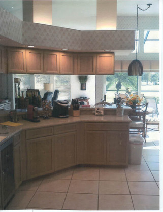 11. Kitchen on Panther Paw Ct before renovations