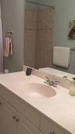 22. Bathroom 2 on Sara Ceno Dr. Estero, FL BEFORE remodel