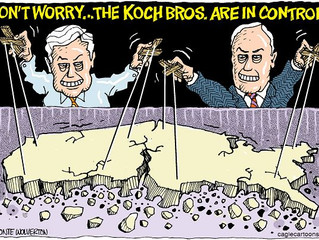 GMU Students Stand Up to the Koch Brothers