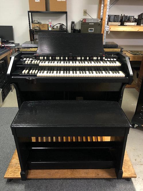 Black Hammond C3 and Leslie 45